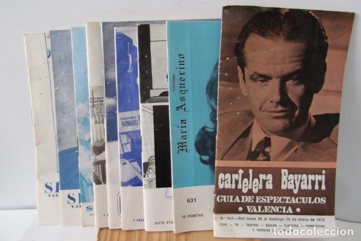 Cine: # EL CINE # CARTELERAS TURIA Y SIPE # AÑOS 1974 - 75 - 1976 # - Foto 20 - 177639022