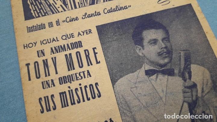 Cine: Cine Santa Catalina (Sevilla). Actuación de TONY MORE famoso cantor radiofónico - Foto 3 - 177673122