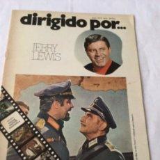 Cine: DIRIGIDO POR - JERRY LEWIS - NUM.6. Lote 178031888