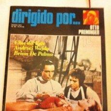 Cine: DIRIGIDO POR - LOTE 20 EJEMPLARES - MUY BIEN CONSERVADOS. Lote 178032345