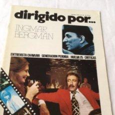 Cine: DIRIGIDO POR - INGMAR BERGMAN - NUM.29. Lote 178032469