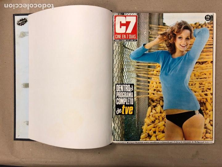Cine: CINE EN 7 DÍAS. AÑO 1971 COMPLETO (menos 4 revistas) EN 4 TOMOS. DE N° 511 al N° 559. 49 NÚMEROS. - Foto 39 - 178139549