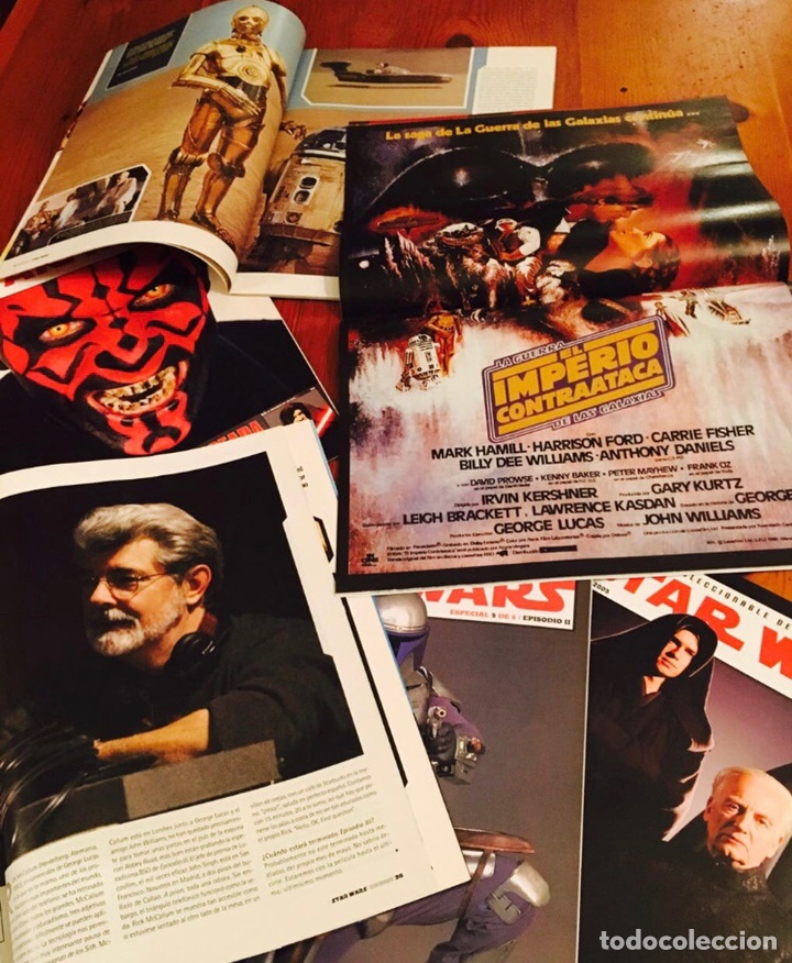 Cine: STAR WARS / LA GUERRA DE LAS GALAXIAS COLECCION SUPLEMENTOS REVISTA CINEMANIA - Foto 2 - 178242033