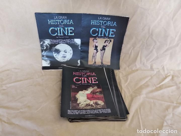 LOTE DE 39 CAPÍTULOS DE LA GRAN HISTORIA DEL CINE, TERENCI MOIX (Cine - Revistas - La Gran Historia del cine)