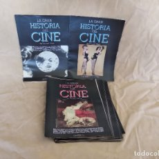 Cinema: LOTE DE 39 CAPÍTULOS DE LA GRAN HISTORIA DEL CINE, TERENCI MOIX. Lote 178294178