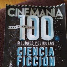 Cine: LAS MEJORES PELICULAS DE CIENCIA FICCIÓN. Lote 178359076