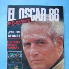 Cine: REVISTA - EL OSCAR 86 EN FOTOGRAMAS - PAUL NEWMAN 30 PAGINAS CON MUCHAS FOTOGRAFIAS COLOR VER FOTOS. Lote 178563828