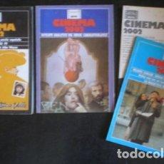 Cine: CINEMA 2002. 4 NÚMEROS: 56 (OCT. 79), 57 (NOV. 79), 60 (FEB. 80) Y 61-62 (MAR-AB.80). Lote 178571267