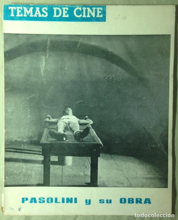 Cine: Revista Temas de Cine.4 Ejemplares Von Stroheim/Passolini/Au hasard Balthasar/Shock corridor - Foto 3 - 178829613