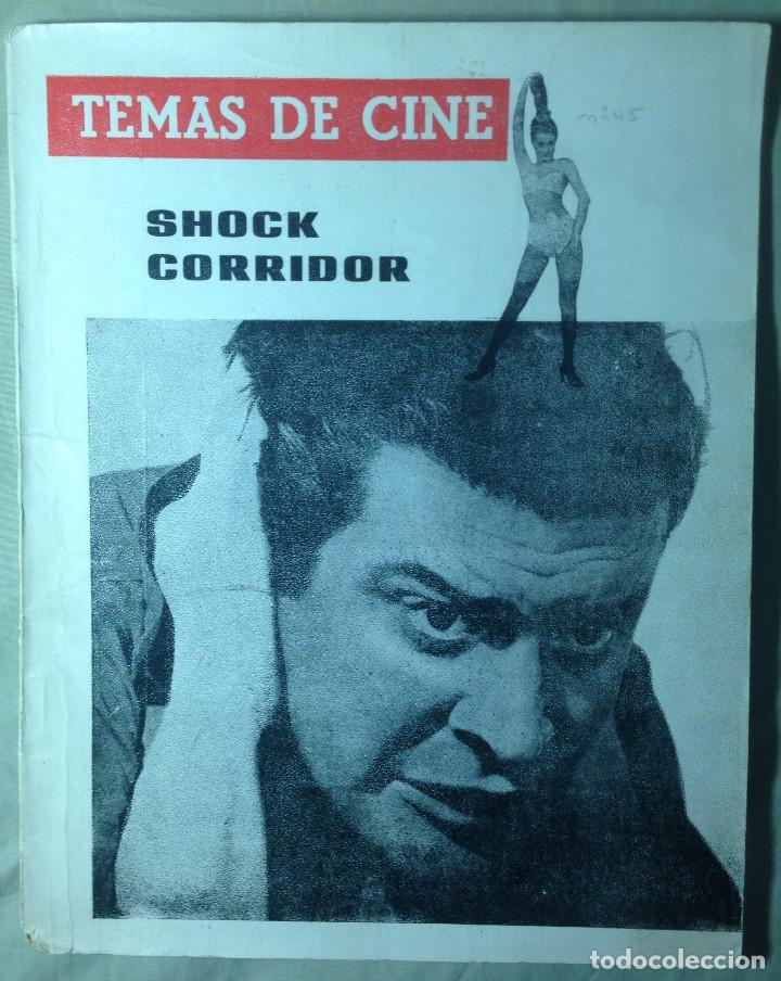 Cine: Revista Temas de Cine.4 Ejemplares Von Stroheim/Passolini/Au hasard Balthasar/Shock corridor - Foto 6 - 178829613