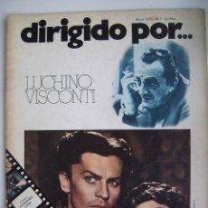 Cine: LUCHINO VISCONTI. REVISTA DIRIGIDO POR. Nº 7. 1973. Lote 178841877