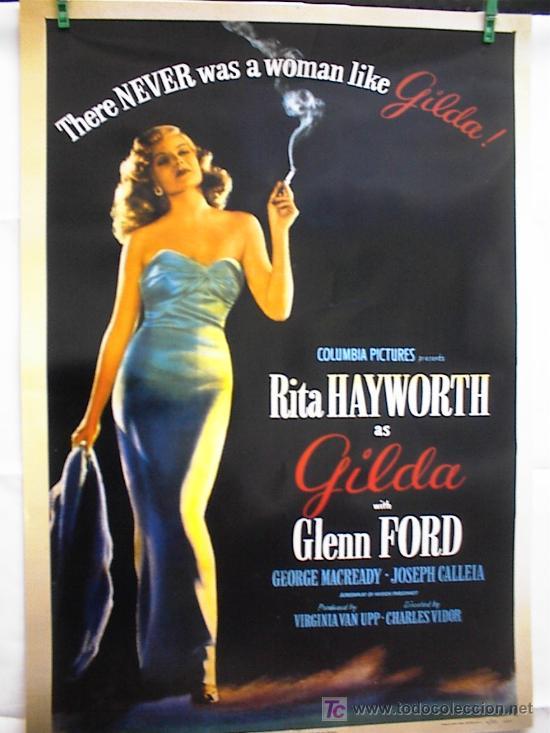 GILDA (Cine - Reproducciones de carteles, folletos...)