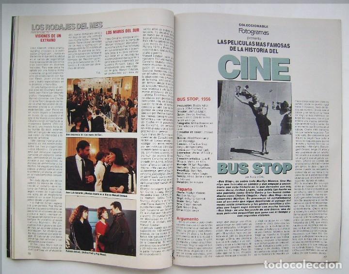Cine: MADONNA. GRETA GARBO. MARILYN MONROE. MICHELLE PFEIFFER. REVISTA FOTOGRAMAS 1990. - Foto 4 - 178897893