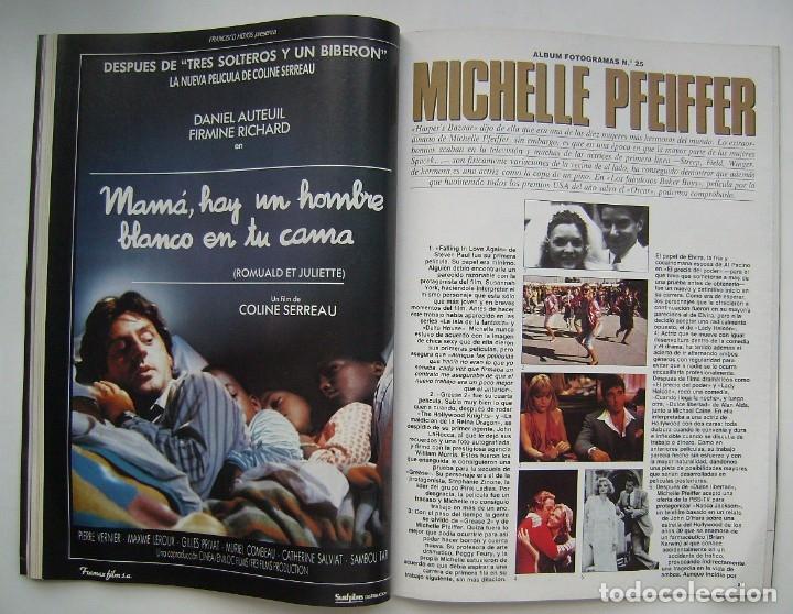 Cine: MADONNA. GRETA GARBO. MARILYN MONROE. MICHELLE PFEIFFER. REVISTA FOTOGRAMAS 1990. - Foto 6 - 178897893