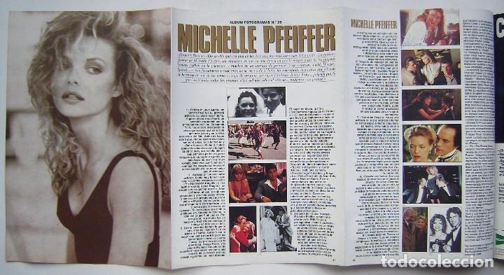 Cine: MADONNA. GRETA GARBO. MARILYN MONROE. MICHELLE PFEIFFER. REVISTA FOTOGRAMAS 1990. - Foto 8 - 178897893