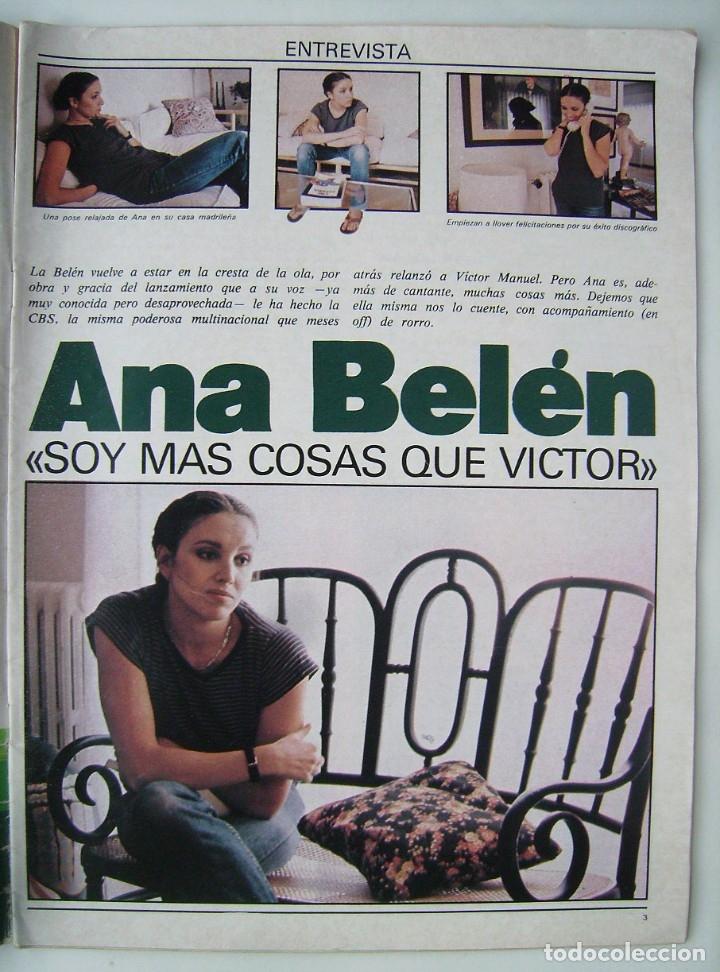 Cine: ANA BELÉN. REVISTA FOTOGRAMAS 1979. - Foto 2 - 178918916