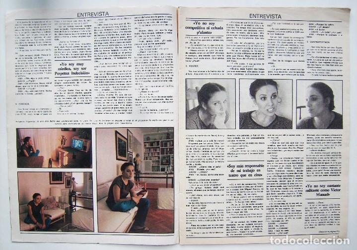 Cine: ANA BELÉN. REVISTA FOTOGRAMAS 1979. - Foto 3 - 178918916