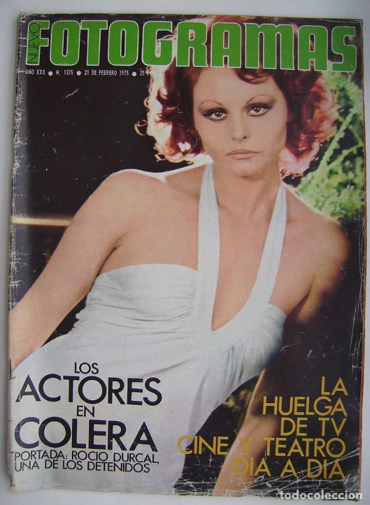 ROCÍO DURCAL. DORIS DAY. REVISTA FOTOGRAMAS 1975. (Cine - Revistas - Fotogramas)