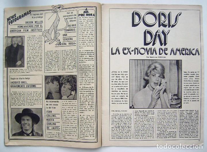Cine: ROCÍO DURCAL. DORIS DAY. REVISTA FOTOGRAMAS 1975. - Foto 3 - 178919006
