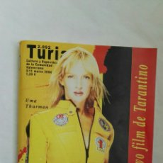 Cine: GUIA TURIA REVISTA CINE Y TV KILL BILL VOL. 1. Lote 178988447