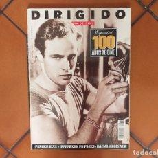 Cine: DIRIGIDO POR 237. JULIO-AGOSTO 1995. ESPECIAL 100 AÑOS DE CINE.. Lote 179099515