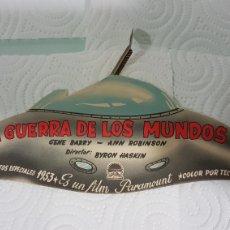 Cine: PUBLICIDAD ORIGINAL DE LA PELÍCULA LA GUERRA DE LOS MUNDOS. Lote 179113143