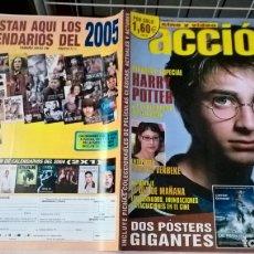 Cinema: REVISTA CINE Y VÍDEO ACCIÓN Nº 145. COMPLETA CON 2 POSTERS GIGANTES Y FICHAS COLECCIONABLES. Lote 179120942