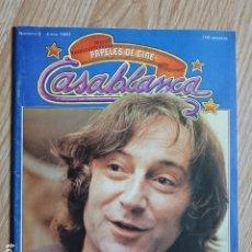 Cinéma: PAPELES DE CINE CASABLANCA Nº 6 JUNIO 1981 ELIAS QUEREJETA GEORGE LUCAS SCORSESE COPPOLA. Lote 179137052