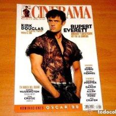 Cine: CINERAMA, NÚMERO 89. MARZO 2000. RUPERT EVERETT-KIRK DOUGLAS-INGREID RUBIO-MATT DAMON. Lote 179175026