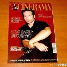 Cine: CINERAMA, NÚMERO 92. JUNIO 2000.DAVID DUCHOVNY-MATTHEW PERRY-MINNIE DRIVER. Lote 179175255