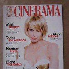 Cine: CINERAMA - NÚMERO 71 - JUNIO Y JULIO 1998 , DARYL HANNAH-MIMI ROGERS-MARIA ADANEZ. Lote 179175412