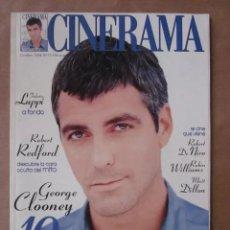 Cine: CINERAMA - NÚMERO 73 - OCTUBRE 1998. GEORGE CLOONEY-FEDERICO LUPPI-ROBERT DE NIRO. Lote 179175621