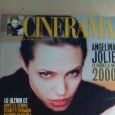 Cine: REVISTA CINERAMA 88. ANGELINA JOLIE-ANNE BENING-ANTONIO BANDERAS-TOY STORY 2. Lote 179176013