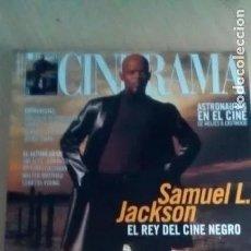 Cine: REVISTA CINERAMA 94. SAMUEL L. JACKSON-CARMELO GOMEZ-VITTORIO GASSMAN-WALTER MATTHAU. Lote 179176093