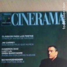 Cine: REVISTA CINERAMA 97. ROBERT DE NIRO-JIM CARREY-CAMERON DIAZ-LUCY LIU-DREW BARRYMORE. Lote 179176222