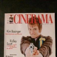 Cine: CINERAMA 63-1997-EWAN MCGREGOR-KIM BASINGER-BIGAS LUNA-RIDLEY SCOTT-JOHN LEQUIZAMO-CLAUDE CHABROL. Lote 179176861