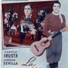 Cine: LA GUITARRA DE GARDEL, EDICIONES BIBLIOTECA FILMS -SERIE ESPECIAL Nº 396.EDIT. ALAS BARCELONA, 1949.. Lote 179190333