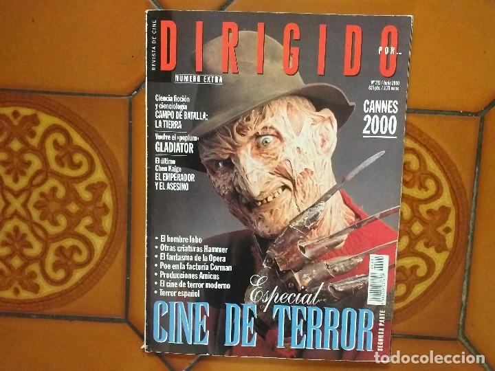 DIRIGIDO POR 291. JUNIO 2000. ESPECIAL CINE DE TERROR. (Cine - Revistas - Dirigido por)
