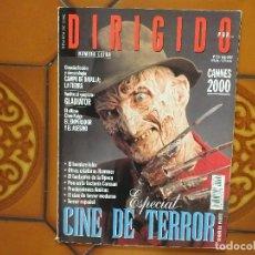Cine: DIRIGIDO POR 291. JUNIO 2000. ESPECIAL CINE DE TERROR.. Lote 179198226