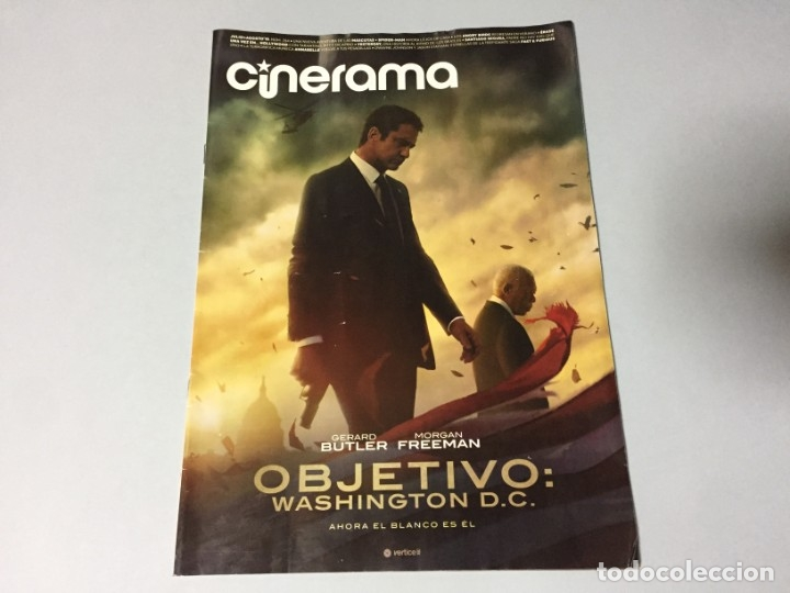 REVISTA CINERAMA JULIO AGOSTO 2019 SPIDERMAN LEJOS DE CASA FAST & FURIOUS PLAYMOBIL IT DICAPRIO BRAD (Cine - Revistas - Cinerama)
