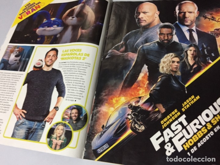 Cine: REVISTA CINERAMA JULIO AGOSTO 2019 SPIDERMAN LEJOS DE CASA FAST & FURIOUS PLAYMOBIL IT DICAPRIO BRAD - Foto 4 - 179213530