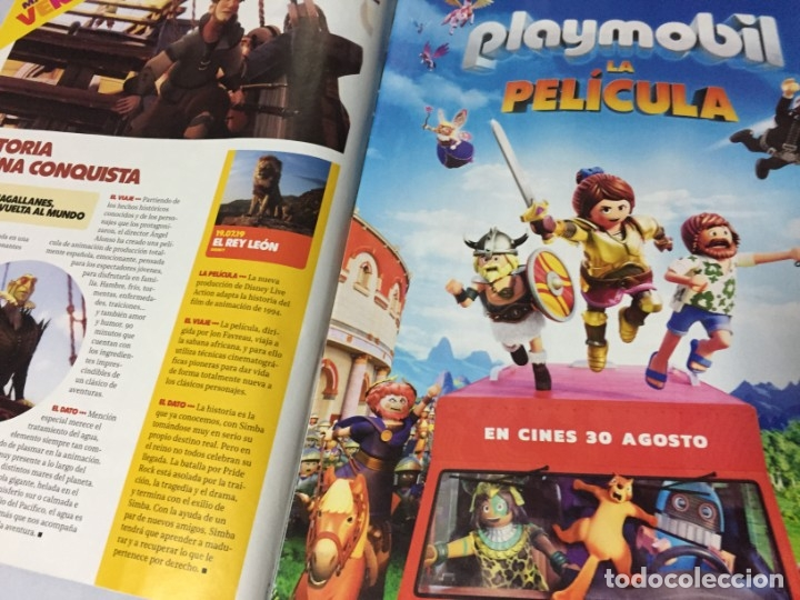 Cine: REVISTA CINERAMA JULIO AGOSTO 2019 SPIDERMAN LEJOS DE CASA FAST & FURIOUS PLAYMOBIL IT DICAPRIO BRAD - Foto 6 - 179213530