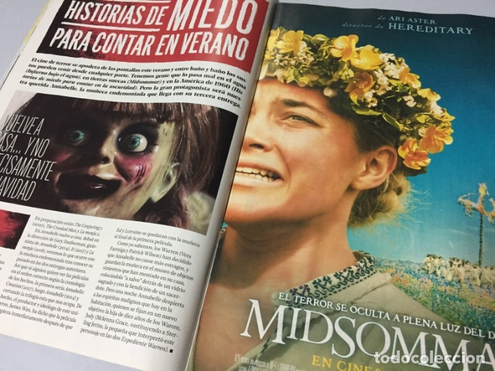 Cine: REVISTA CINERAMA JULIO AGOSTO 2019 SPIDERMAN LEJOS DE CASA FAST & FURIOUS PLAYMOBIL IT DICAPRIO BRAD - Foto 12 - 179213530