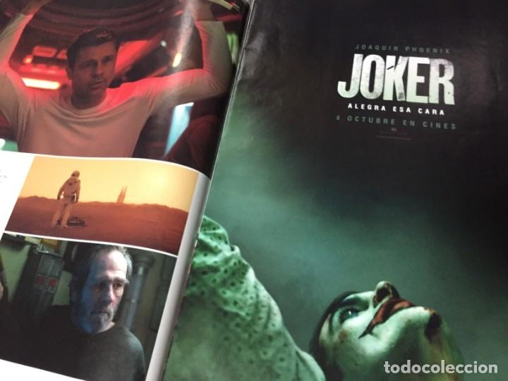 Cine: REVISTA CINERAMA SEPTIEMBRE 2019 BRAD PITT AD ASTRA JOKER ANNA DOWNTON ABBEY SYLVESTER IT STALLONE - Foto 4 - 179213625