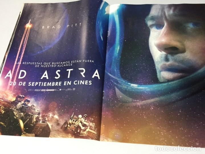 Cine: REVISTA CINERAMA SEPTIEMBRE 2019 BRAD PITT AD ASTRA JOKER ANNA DOWNTON ABBEY SYLVESTER IT STALLONE - Foto 9 - 179213625