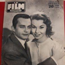 Cine: 1958 LE FILM COMPLET NÚMERO 587 CENSOR. LES SUPONGO VIOLENTO FOTO BURT LANCASTER CONTRAPORTADA. Lote 179227751
