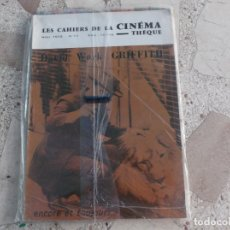 Cine: LES CAHIERS DE LA CINEMATHEQUE Nº 17 ,NOEL 1975,DAVID WARK GRAFFITH. Lote 179242056