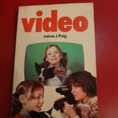 Cine: 1983 VIDEO JAIME J.PUIG EDICIONES PARRAMON. Lote 179520951