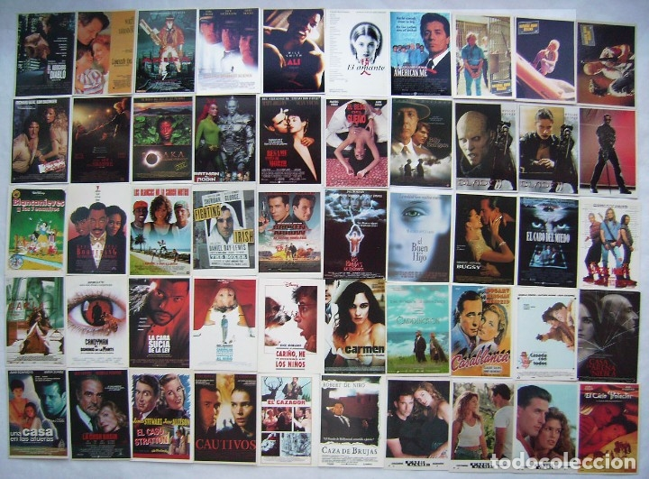 50 REPRODUCCIONES EN POSTAL. LOTE Nº 7. (Cine - Reproducciones de carteles, folletos...)