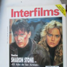 Cinema: MAGAZINE INTERFILMS (SHARONE STONE) 1993 Nº56 SPAIN. Lote 180200603